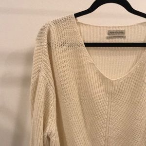 Urban Outfitters oversized cream sweater